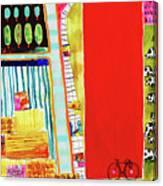 Red Barnyard Canvas Print