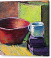 Red Bowl Canvas Print