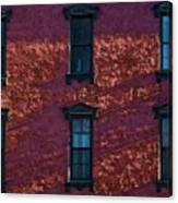Red Brick Building Nyc Canvas Print