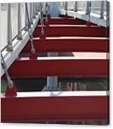 Red Bridge Canvas Print
