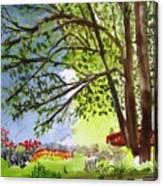 Red Brtdge Canvas Print