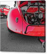 Red Bug Canvas Print