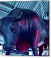 Red Bulls Canvas Print