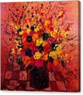 Red Bunch Canvas Print