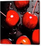 Red Candy Apples Or Apple Taffy Canvas Print