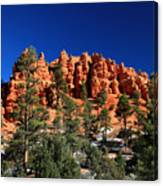 Red Canyon State Park Canvas Print