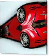 Red Car 007 Canvas Print