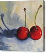 Red Cherries Canvas Print