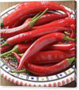 Red Chilis Canvas Print