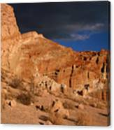 Red Cliffs Natural Preserve Canvas Print