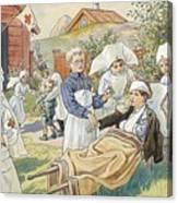 Red Cross Canvas Print