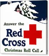 Red Cross Poster, C1915 Canvas Print