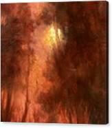 Red Dawn Ridgefield Refuge Canvas Print