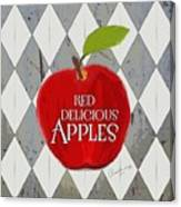 Red Delicious Apples Canvas Print