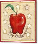 Red Delicious Two Canvas Print