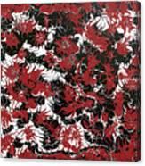 Red Devil U - Original Canvas Print
