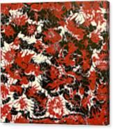 Red Devil U - V1cfs100 Canvas Print