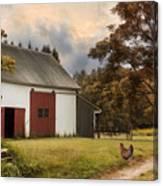 Red Door Farm Canvas Print