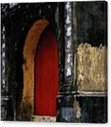 Red Doorway Canvas Print