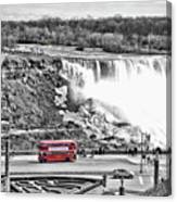 Red Double Decker Canvas Print