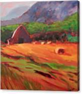 Red Farm Canvas Print