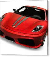 Red Ferrari F430 Scuderia Canvas Print