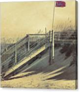 Red Flag Day Canvas Print