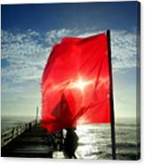 Red Flag Warning Sunrise 3 9/30 Canvas Print