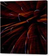 Red Flare Canvas Print
