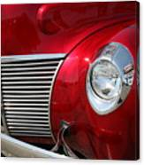 Red Grill Canvas Print
