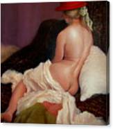 Red Hat 5 Canvas Print