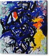 Red-headed Bluesprecher Canvas Print