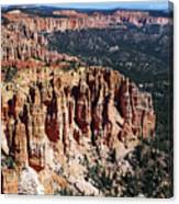 Red Hoodoos Of Bryce Canyon National Park Canvas Print