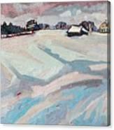 Red Horse Farm Canvas Print