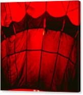 Red Hot Air Balloon Canvas Print