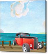 Red Hot Rod Canvas Print