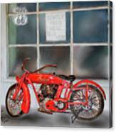 Red Hot Tail Gunner Canvas Print