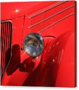 Red Hotrod Canvas Print