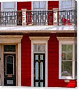 Red House-nola-marigny-2 Canvas Print