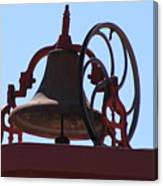 Red Iron Bell Canvas Print