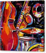 Red Jazz Canvas Print