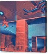 Metro Airborne 5 Canvas Print
