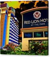 Red Lion Hotel In Spokane Canvas Print