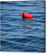 Red Lobster Buoy Canvas Print