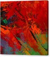 Red Mood Canvas Print