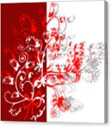 Red Ornament Canvas Print
