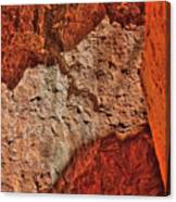 Red, Pink And Orange Canvas Print