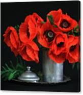 Red Poppy Canvas Print