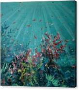 Red Reef  2006   Canvas Print