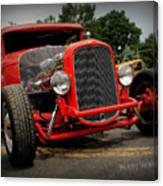 Red Ride 2 Canvas Print